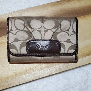 COACH Tan Wallet